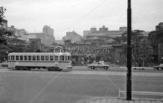 都電 帝国ホテル前 1967年11月
