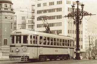 都電 日本橋 昭和36 1961