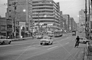 都電 28系統 日本橋-茅場町間 1972年3月