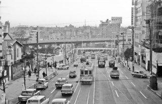 青山車庫-渋谷駅前 間9系統 渋谷駅行き 1967年12月