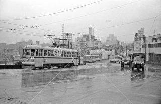 都電3系統 赤坂見附-若葉一丁目間 1963年9月頃