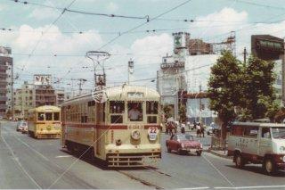 都電 人形町 6043 昭和42 1967