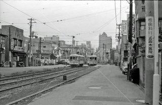 新田裏 都電 1967年7月