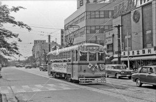 都電 巣鴨車庫前付近 41系統 1966年5月