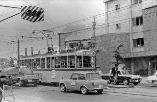 都電 志村橋 41系統 1966年5月