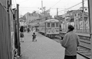 都電27系統 三ノ輪橋 1967年12月