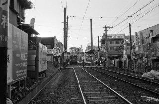 東京急行電鉄 世田谷線 若林駅 1974年10月