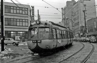 玉電 渋谷-上通 間 デハ200形 No.202 1968年2月