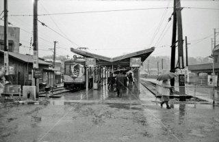 玉電 二子玉川園駅 1969年2月