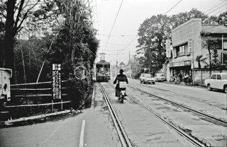 玉電 用賀駅-桜新町駅間 1969年1月