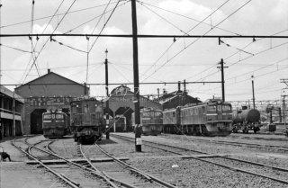 八王子機関区 1964年3月