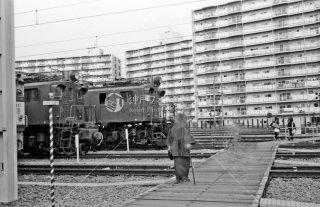 立川機関区 拝島派出所 1984年1月