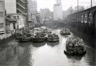 万世橋 神田川 高架 昭和41年 1966