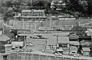 箱根登山鉄道 箱根湯本駅付近 昭和53 1978