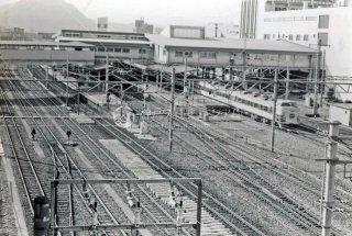 平塚駅 特急あまぎ 183系 昭和56年1981