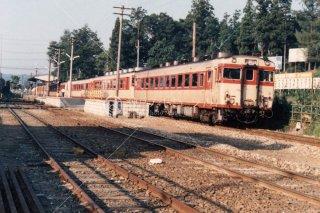 飯山線 戸狩駅 1978年