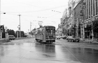 名鉄岐阜市内線 岐阜駅前 1981年8月