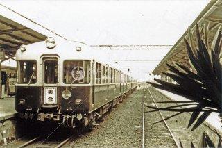 名鉄 新岐阜 美合行 昭和35 1960
