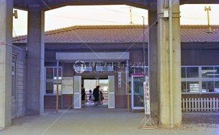 東海道本線 枇杷島駅 旧駅舎 昭和55 1980