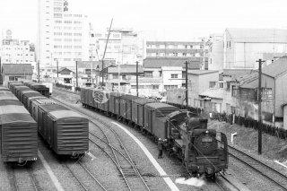 豊橋駅構内 C58 99 貨レ 昭和46 1971