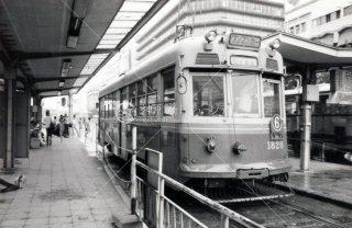 京都市電 京都駅 鳥丸車庫行 昭和53 1978