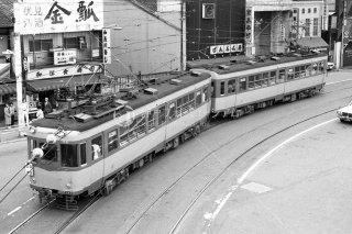 京阪電鉄大津線 京津三条 三条〜東山三条 80形96 昭和54 1979