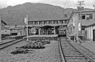 京福電鉄 嵐山線 嵐山駅 1982年3月