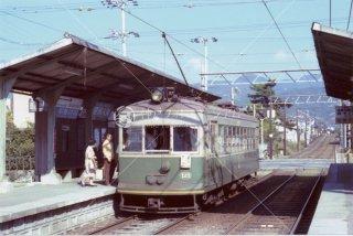 京福 嵐山線
