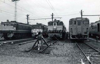 国鉄 梅小路蒸気機関車館 機関区 昭和53年 1978年