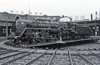 国鉄 梅小路蒸気機関車館 機関区 C622 2 昭和53年 1978年