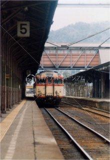 山陰本線 綾部駅 ディーゼルカー 昭和58 1984