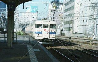 東海道本線 大阪 115系 エキスポ号 平成2 1990