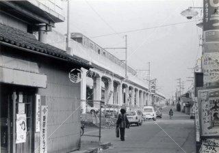 国鉄 阪和線 東羽衣駅 昭和56 1981
