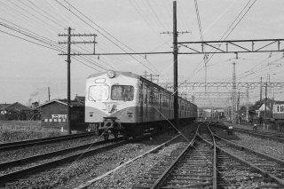国鉄70系 阪和線 直行 鳳電車区付近 昭和35 1960