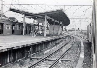 長尾駅 片町線 昭和56 1981