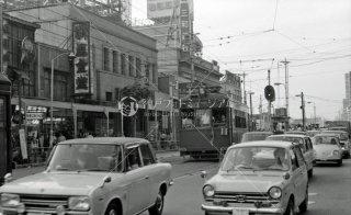 南海電鉄 大阪軌道線 上町線237 天王寺駅前駅-阿倍野駅間 1969年6月
