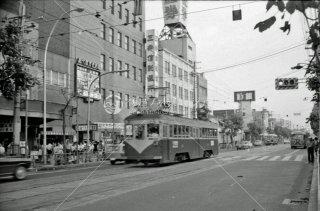 南海電鉄 大阪軌道線 上町線 天王寺駅前駅-阿倍野駅間 1969年6月