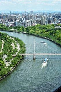 川崎橋 桜の宮望む