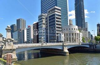 難波橋 大阪証券取引所