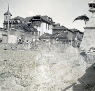 海神社 浜大鳥居工事 垂水警察署 昭和31年