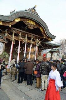 海神社 初詣