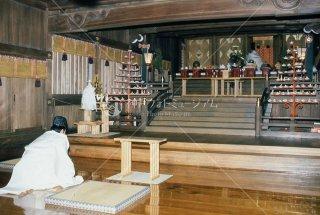 海神社夏祭礼祭 開扉 平成元年七月十一日