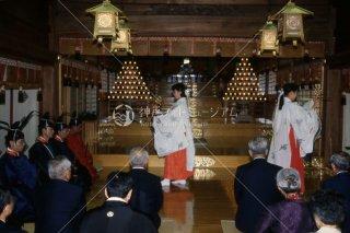 海神社秋祭 神楽舞