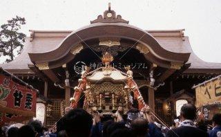 海神社秋祭り 神輿