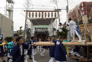 海神社秋祭 東高丸布団太鼓 養勝寺 平成30年
