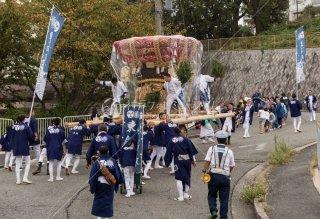 海神社秋祭 東高丸布団太鼓 王居殿3丁目 平成30年