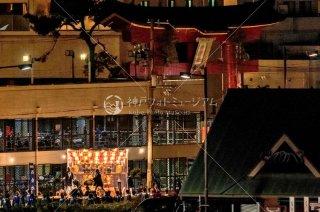 海神社秋祭 西垂水布団太鼓 垂水漁港前 平成30年