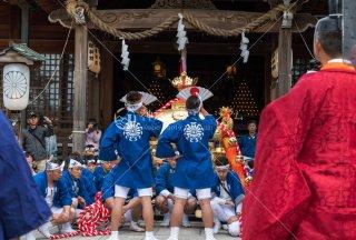 海神社秋祭 御神輿巡幸 東高丸地区奉仕 平成30年