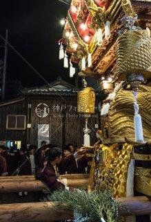 海神社秋祭 東垂水布団太鼓 倉前休憩 平成30年