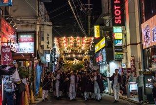 海神社秋祭 東垂水布団太鼓 平磯 平成30年